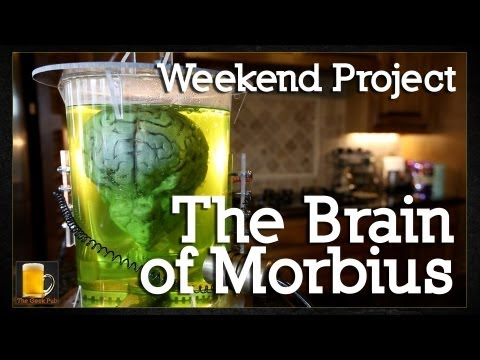 How to make The Brain of Morbius (Brain in a Jar)