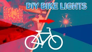 DIY Complete bicycle lighting system using Arduino