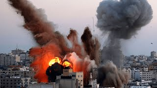 video: Israeli military targets home of Gaza's Hamas leader in bomb attack