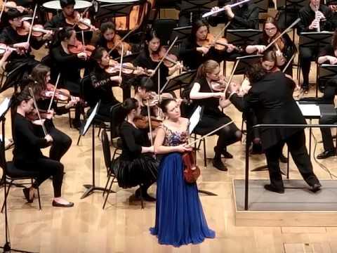 Beethoven Violin Concerto 1st movement - Sophia Anna Szokolay