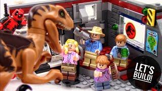 LEGO Jurassic Park: Velociraptor Chase 75932 - Let's Build!