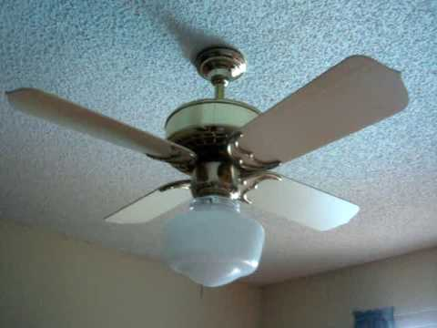 Ceiling Fans in my new house - YouTube