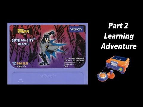 Batman: Gotham City Rescue (V.Smile) (Playthrough) Part 2 - Learning Adventure