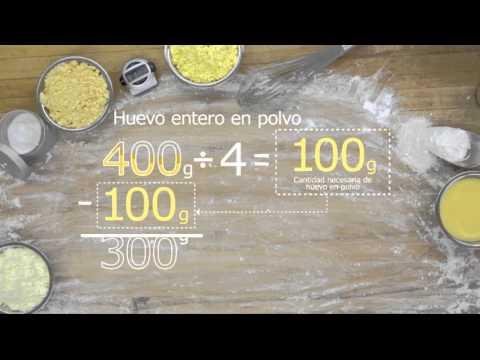 Conversión de huevo líquido a huevo en polvo