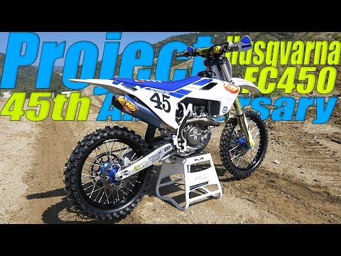 45th Anniversary Special Edition FMF build - Motocross Action Magazine