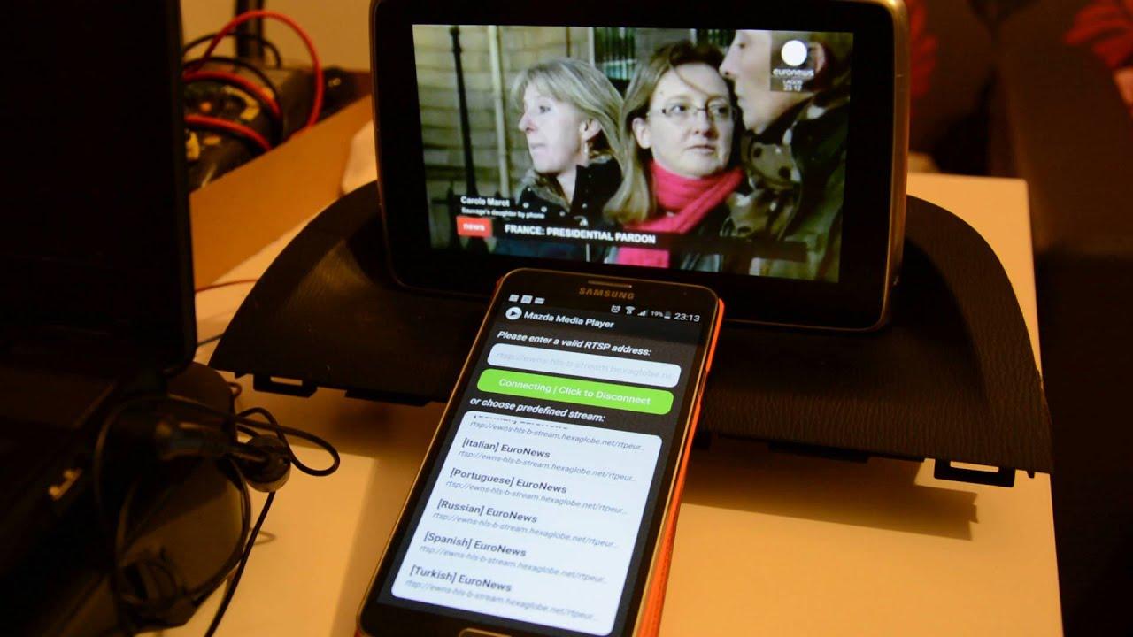 Mazda Media Player v0 2 2 release - RTSP/TV Online Player