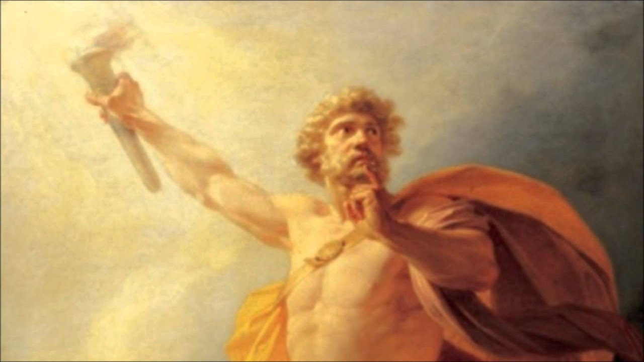 prometheus bound painting essay