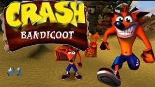 Comienza la aventura en la playa/Crash Bandicoot #1