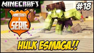 Minecraft A SERIE 2 - HULK ESMAGA!! #18