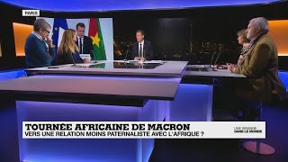 Tournée africaine de Macron :