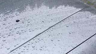Autoglym Ultra High Definition Wax Hydrophobicity