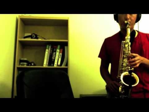 Green Day  21 Guns alto sax
