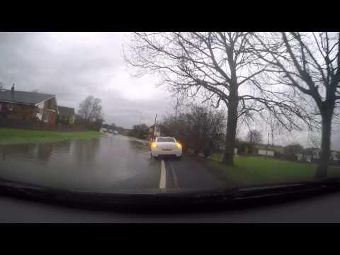 Flooding At Hall Lane, Aspull