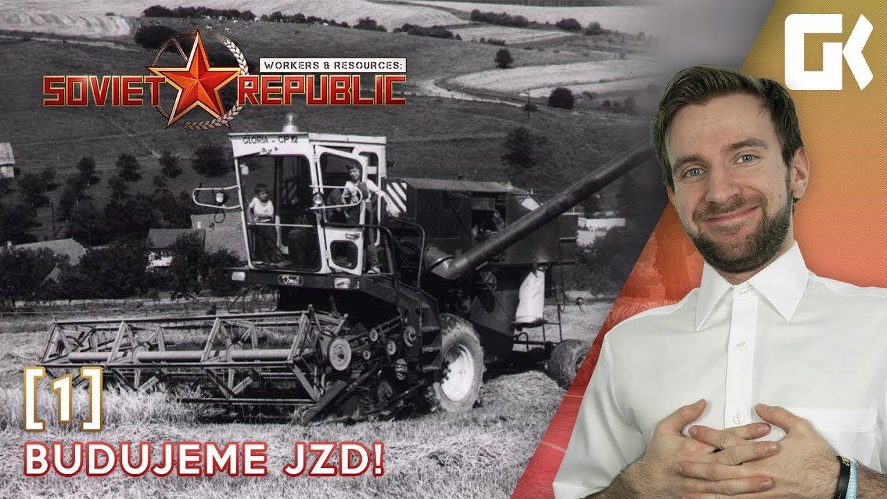 BUDUJEME JZD! | Workers & Resources Soviet Republic #01