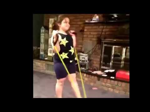 Girl rope fail vine