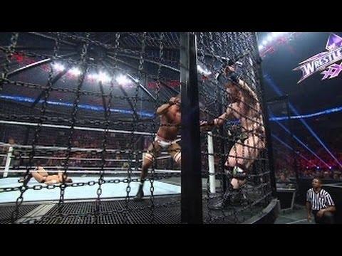 Orton vs Cesaro vs Christian vs Sheaamus vs John Cena vs Bryan Elimination Chamber 2014