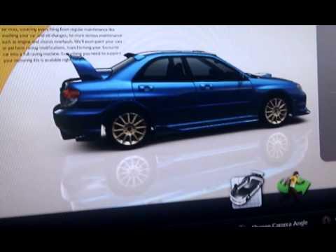 Gran Turismo 5 Car Customization Subaru Impreza Youtube