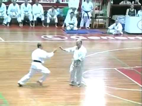 Karate Makotokai dimostration of Uke and Kime waza