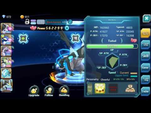 Pokeland Legend Black Kyurem power boost Part2