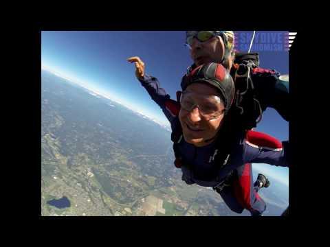 Jeffrey Brown's Tandem skydive!