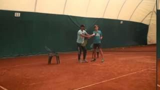 Теннис. Дневник тренировок. 17.