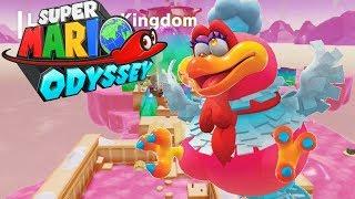 WIELKIE PTASZYSKO - Let's Play Super Mario Odyssey #17 [NINTENDO SWITCH]