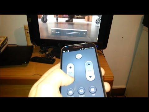 حول هاتف غالاكسي  إلى remote control للتحكم في جهاز التلفاز
