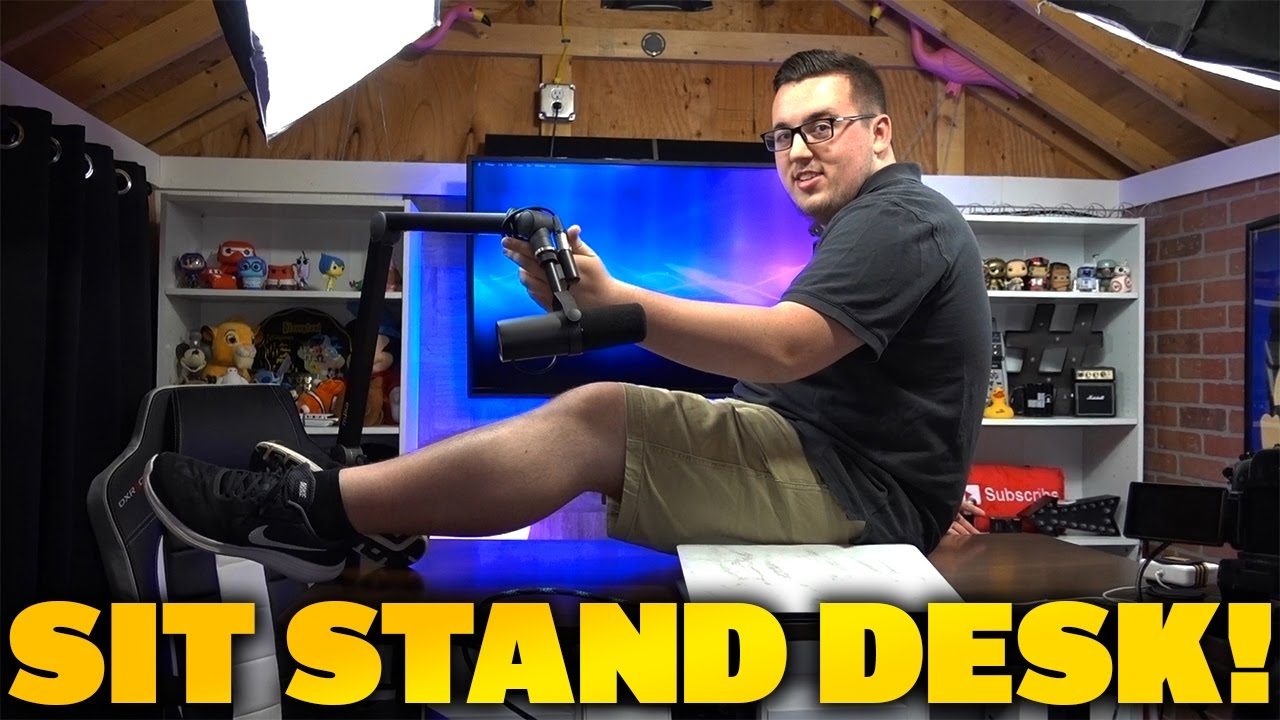 Affordable Sit Stand Desk Review Autonomous Smart Desk 2