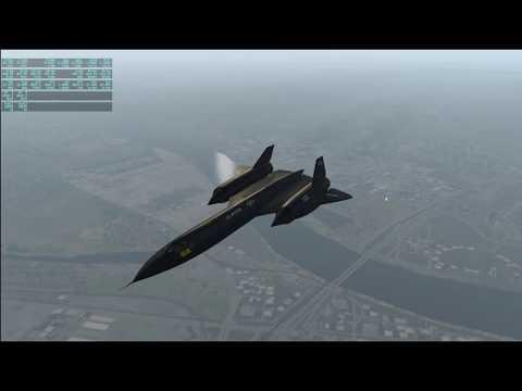 X-Plane 11 - SR-71 05 - Venice to Athens
