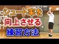 【バスケ初心者講座】ジャンプシュートの確率を向上させるおススメシュートドリルについて解説【考えるバスケットの会 中川直之】