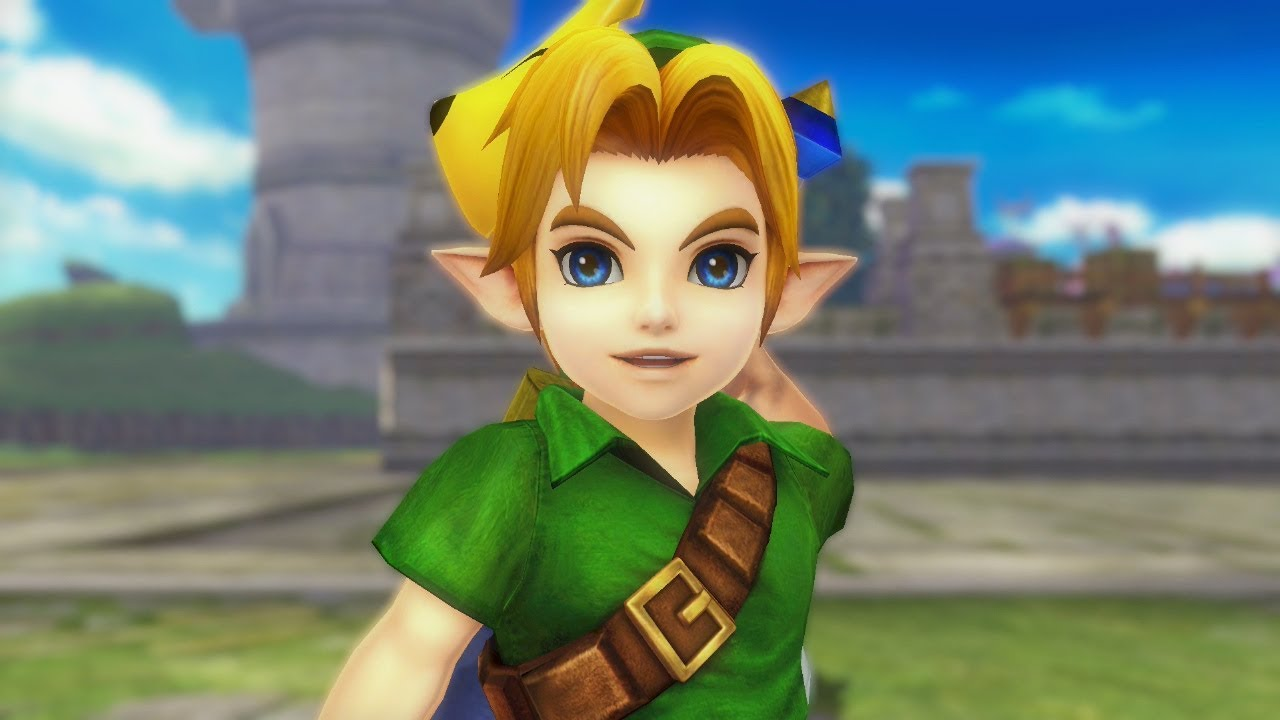 Hyrule Warriors Definitive Edition Young Link Gameplay Mask Youtube
