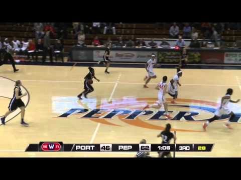 Highlights - Pepperdine 74, Portland Women