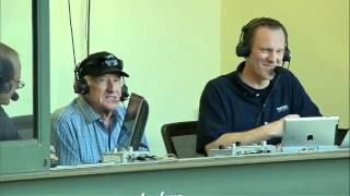 2012/06/05 Uecker joins the Cubs' broadcast