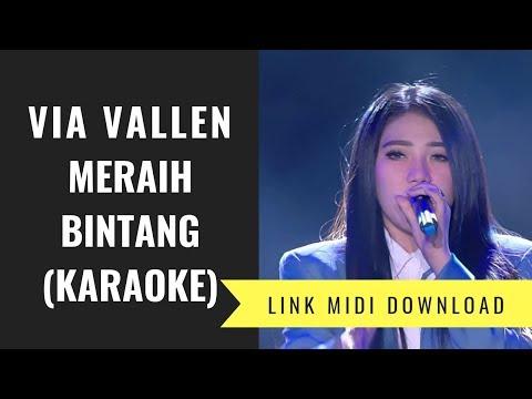Via Vallen - Meraih Bintang (Karaoke/Midi Download)