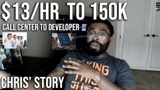 How He Went From a Call Center to Developer (Developer Stories - Chris)