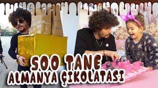 500 Tane Alman Çikolatası   Kumsal'a Hediye!