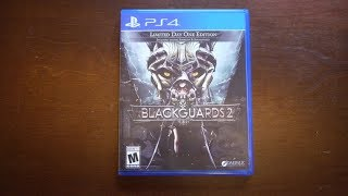 Unboxing Blackguards 2 [PS4] + Why it was delayed (No Gameplay!)