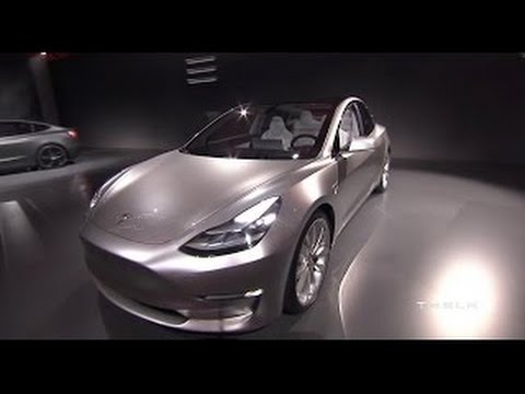 Tesla MODEL 3 | First Look