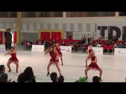 Las Estrellas AfroCuban Dance School 2017 TDF 3rd place