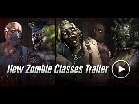 new zombie classes trailer counter strike nexon zombies youtube