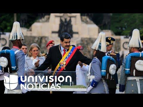 Con un discreto desfile militar, el régimen Maduro conmemora los 198 años de la Batalla de Carabobo