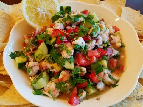 ? Homemade Shrimp Ceviche Recipe by Mommy Is A Chef Super Bowl Recipes Appetizer Ideas Heidy Guzman