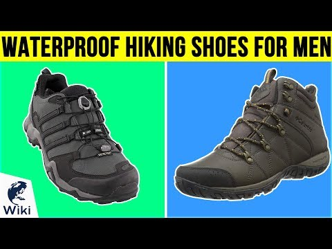 10 Best Waterproof Hiking Shoes For Men 2019