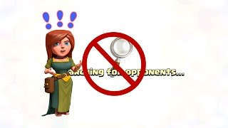 Clash Of Clans - How To Raid Without Clouds!