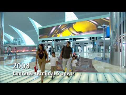 Emirates Terminal 3 opens   Milestone series - 2008   Emirates Airlines