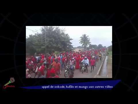 Appel  de Sokodé, Bafilo et Mango aux autres villes