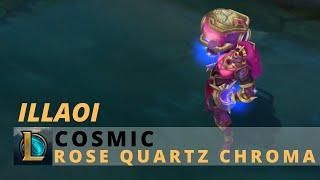 Cosmic Illaoi Rose Quartz Chroma - League Of Legends