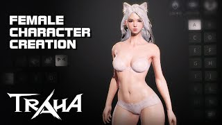 Traha - Female Character Creation - Android on PC - Mobile - F2P - KR