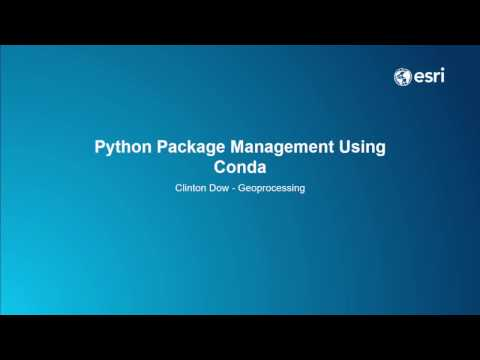 Python Package Management Using Conda
