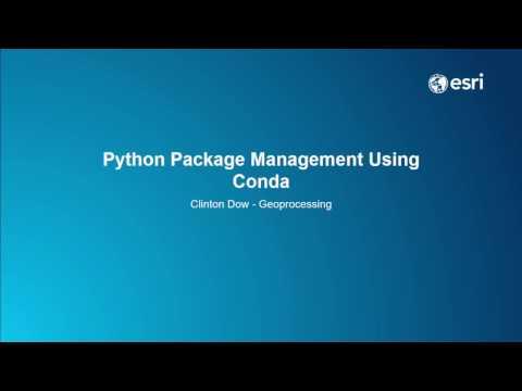 Python Package Management Using Conda